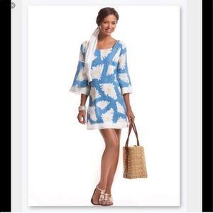 Island Company • Chica sunflower linen dress